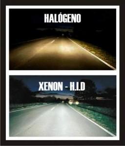 luces xenon